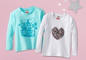 Prints Charming: Girls' Graphic Tees