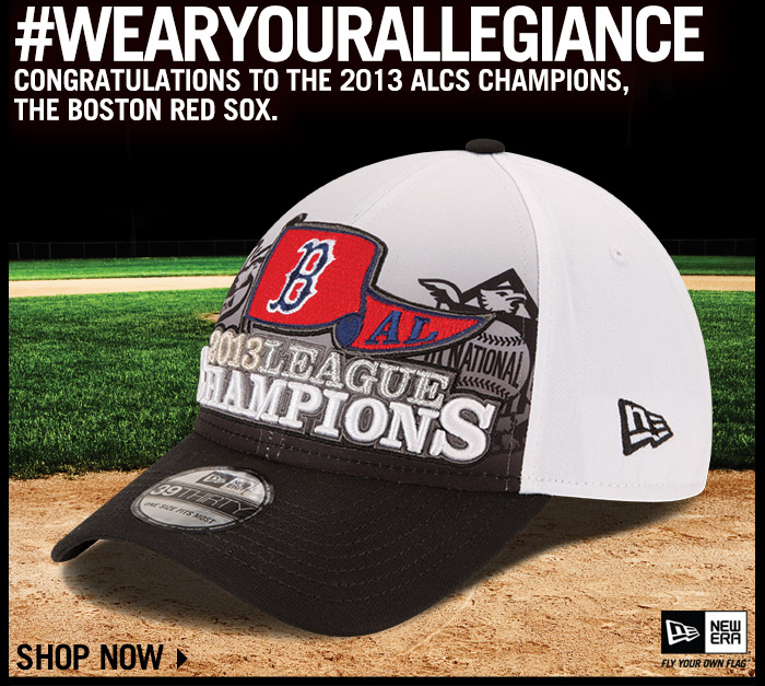 Shop 2013 ALCS Champions Boston Red Sox Gear!