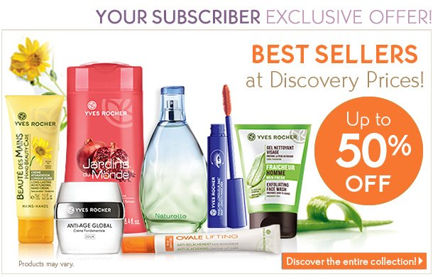 BEST SELLERS at Discovery Prices!