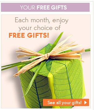 YOUR FREE GIFTS
