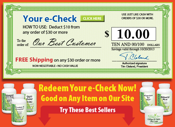 $10 off any order of $30 or more plus get FREE shipping on orders of $30 or more