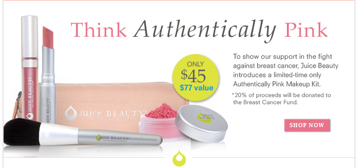 Think Authentically Pink