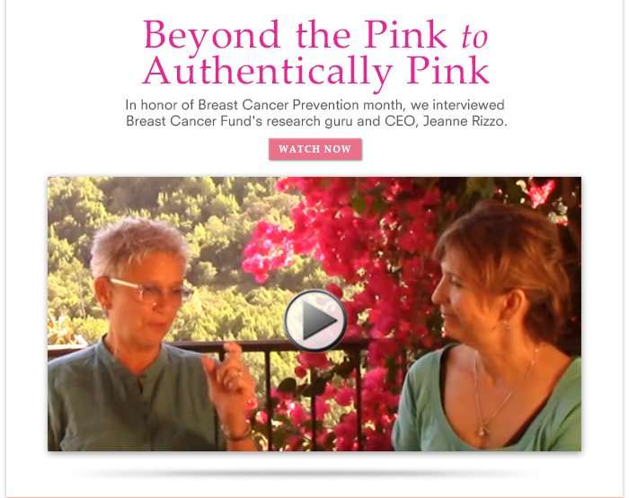 Beyond the Pink to Authentically Pink
