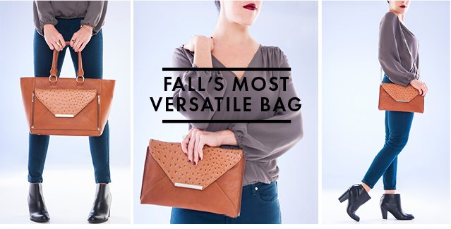 Fall's Most Versatile Bag