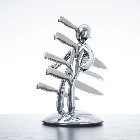 Ex Knife Holder 2nd Edition // Limited Edition Chrome