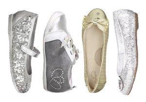 Silver & Bold: Metallic Kids' Shoes
