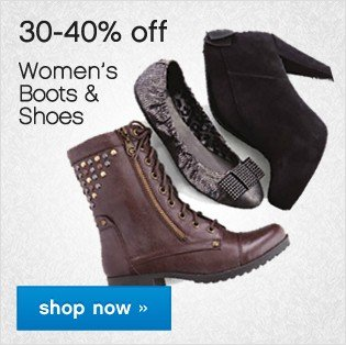 30-40% off Women's Boots and Shoes. Shop now.