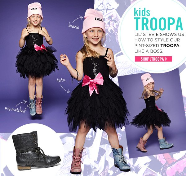 Kids Troopa! Shop JTroopa!