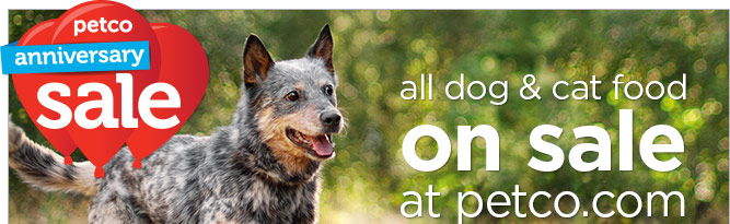 All dog & cat food on sale at petco.com!