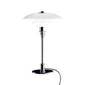 PH 3/2 Table Lamp, Glass/high lustre chrome plated