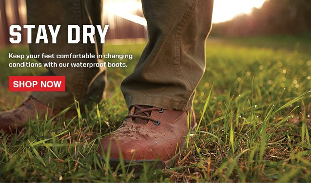 Stay Dry with Waterproof Boots
