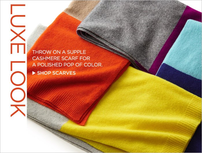 LUXE LOOK | SHOP SCARVES