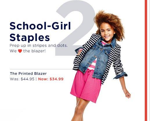 2 School-Girl Staples