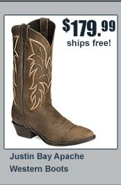 Justin Apache Boots