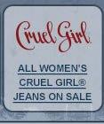 All Cruel Girl Jeans on Sale