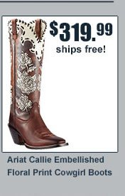 Ariat Callie Floral Boots