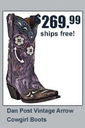Dan Post Vintage Boots
