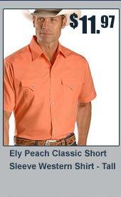 Ely Peach Classic Shirt