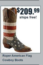 Roper American Flag Boots