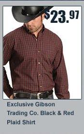 Gibson Plaid Shirt