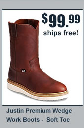 Justin Wedge Work Boots