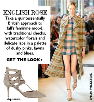 ENGLISH ROSE. GET THE LOOK