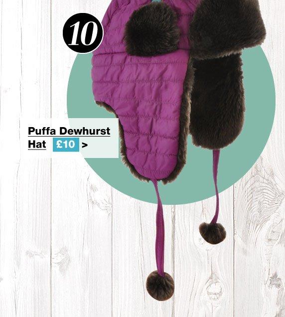 Puffa Dewhurst Hat £10 (Earn 50 Rider Reward points worth 50p)