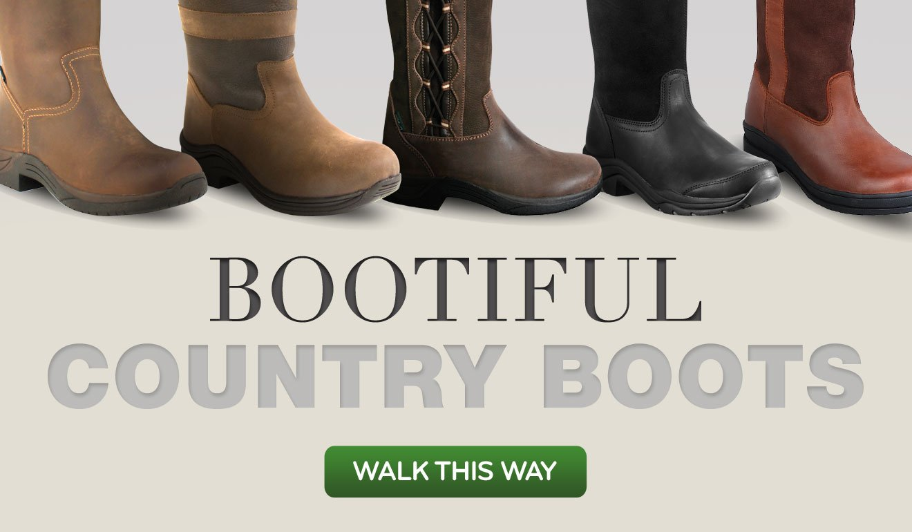 Bootiful Country Boots - Walk This Way >
