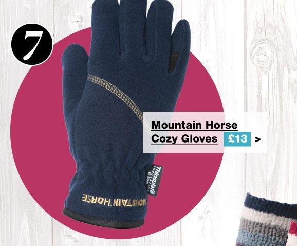 Mountain Horse Cozy Gloves £13 (Earn 65 Rider Reward points worth 65p)