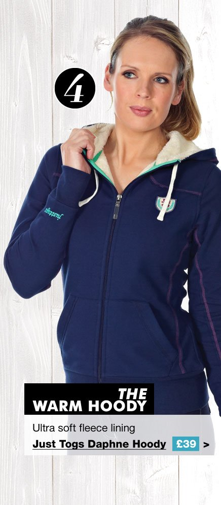 Just Togs Daphne Hoody £39 (Earn 195 Rider Reward points worth £1.95)