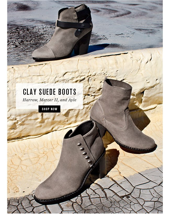 Clay Suede Boots