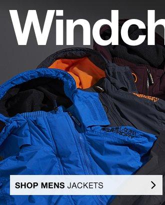 Mens windcheaters