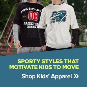Shop Kids' Apparel