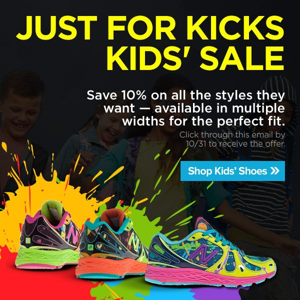 10% Off Kids' Shoes