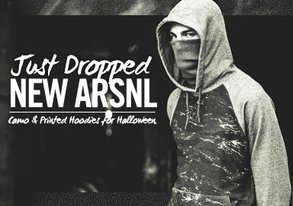 Shop NEW ARSNL ft. Camo & Printed Hoodies