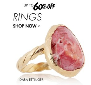 RINGS - UP TO 60% OFF
