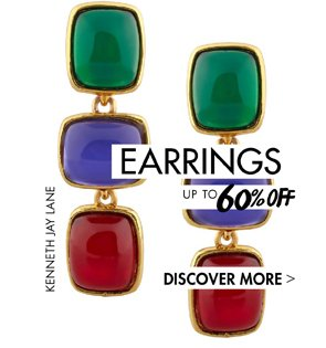 EARRINGS - UP TO 60% OFF