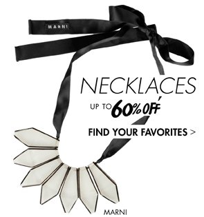 NECKLACES - UP TO 60% OFF