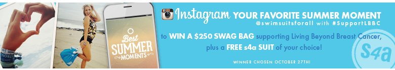 Instagram Your Favorite Summer Moment and WIN !