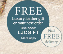 Free Luxury Leather Gift on your next order - use code LJCGIFT. T&C's apply
