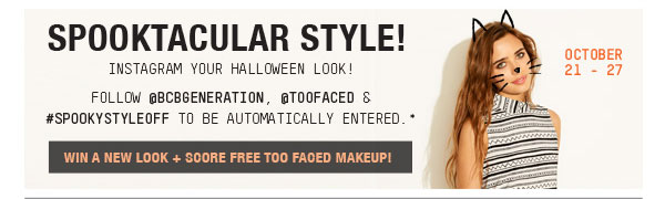 INSTAGRAM YOUR HALLOWEEN LOOK!