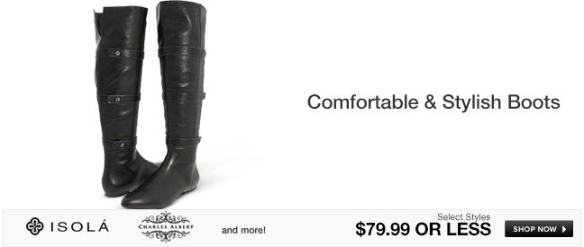 Comfortable and Stylish Boots