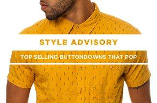 Buttondowns That Pop