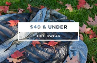 Outerwear $40 and under