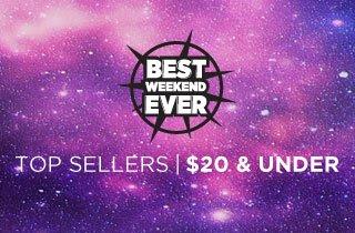 Top Sellers $20 & Under