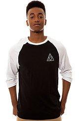 The Triple Triangle Raglan in Black and White