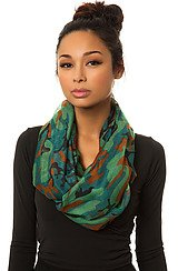 The Abstract Camo Scarf
