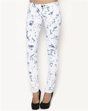 F&J Funky Jeans Wear Smudge Jeans