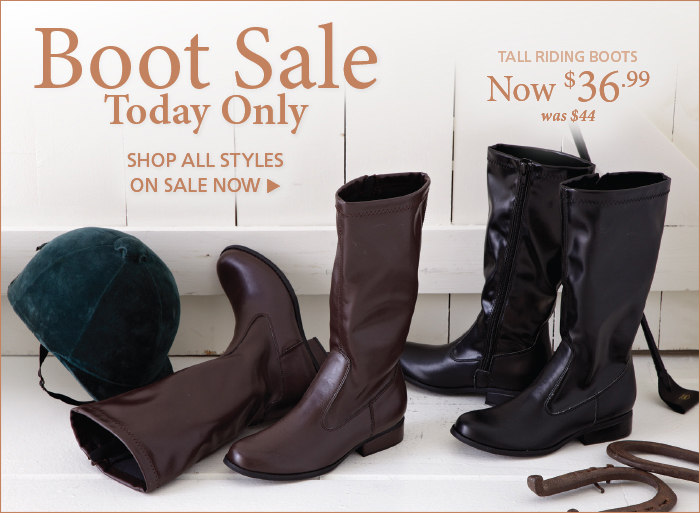 Shop our One-Day Boot Sale