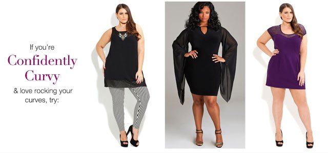 Shop our confidently curvy collection